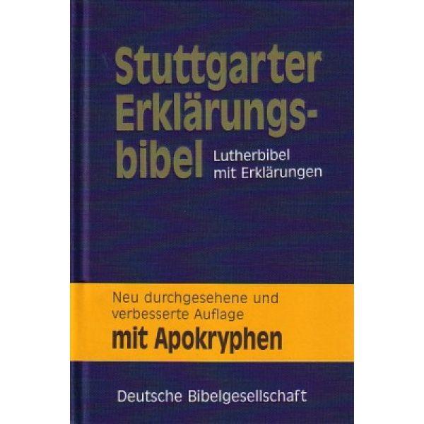 Stuttgarter Erklärungsbibel mit Apokryphen