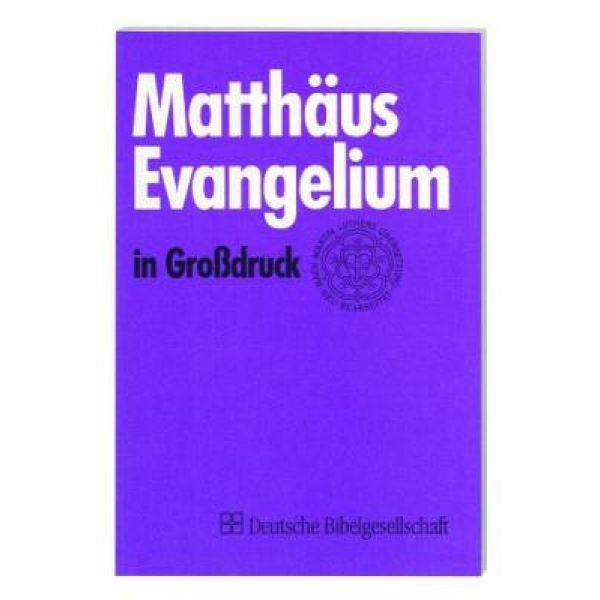 Matthäusevangelium in Großdruck
