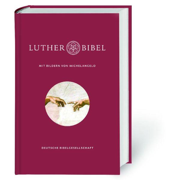 Lutherbibel 2017 mit Bildern von Michelangelo