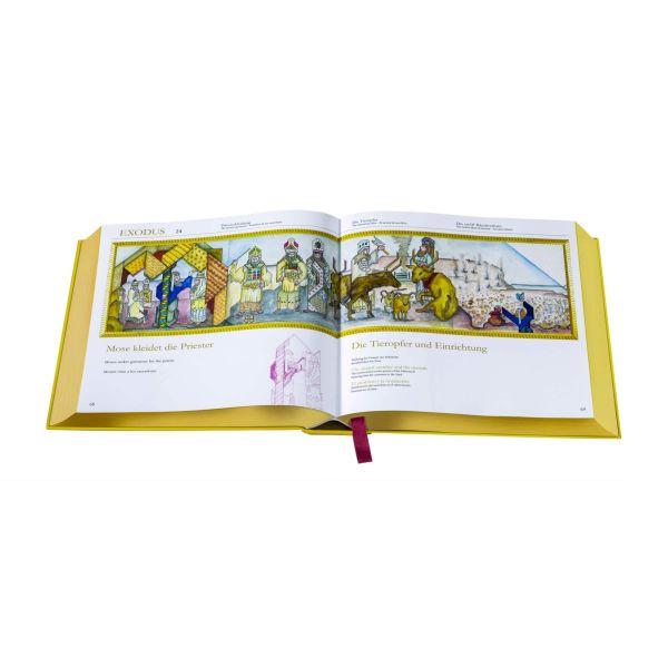 Die Wiedmann Bibel - ART-Edition rot