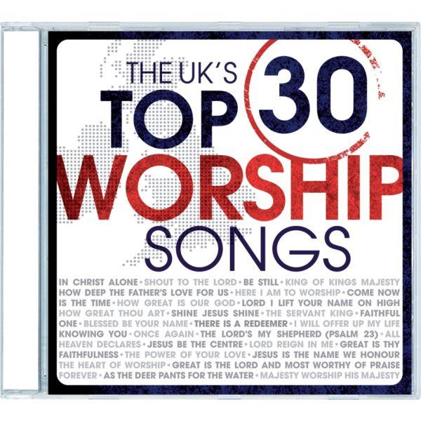 UK's Top 30 Worship Songs