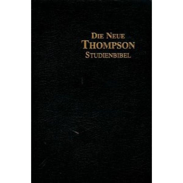Neue Thompson Studienbibel - schwarz
