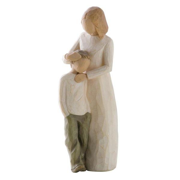 """Willow Tree Figur """"Mutter und Sohn"""""""