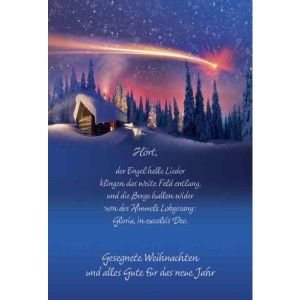Faltkarte - Weihnachten Gloria