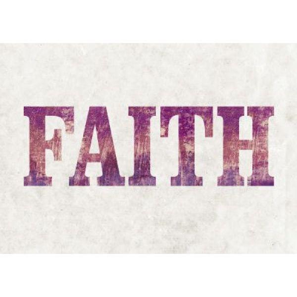 "Postkarten ""Faith"" - 5er Set"
