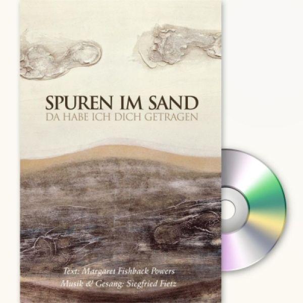 Spuren im Sand - Faltkarte mit CD