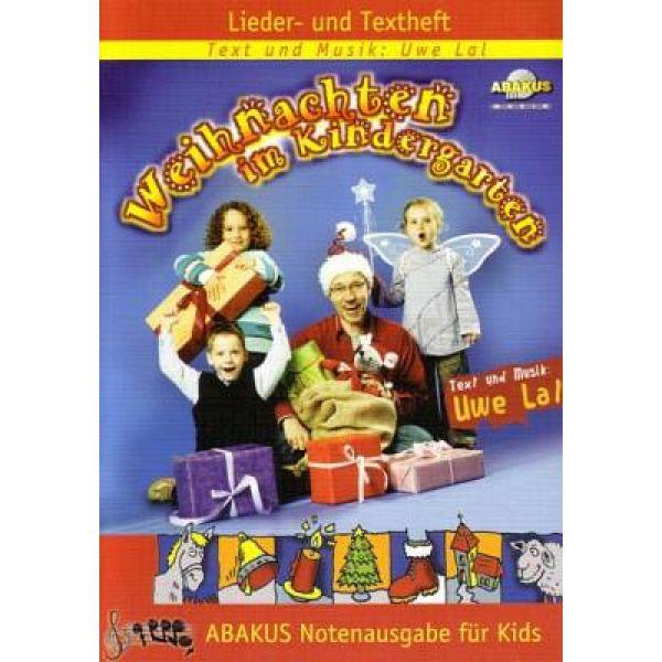 Weihnachten im Kindergarten - Liederheft