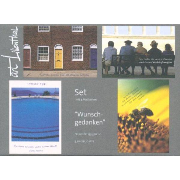 Postkarten-Set Wunschgedanken