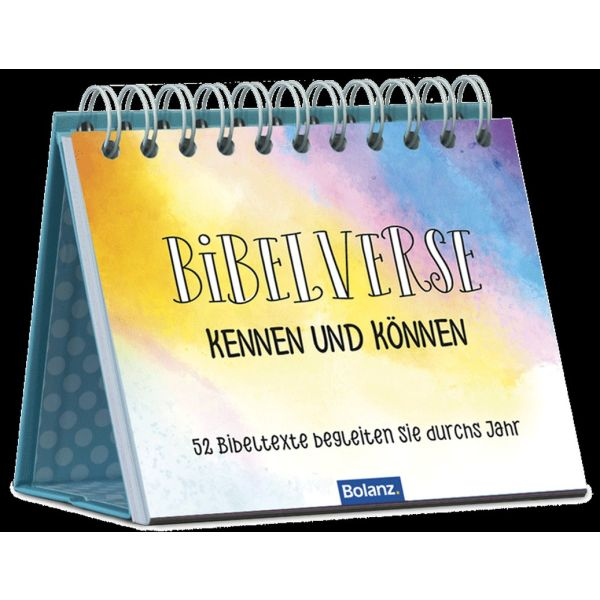 Bibelverse kennen und können