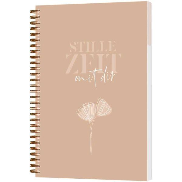 Stille Zeit mit Dir - Notizbuch (LineArt)