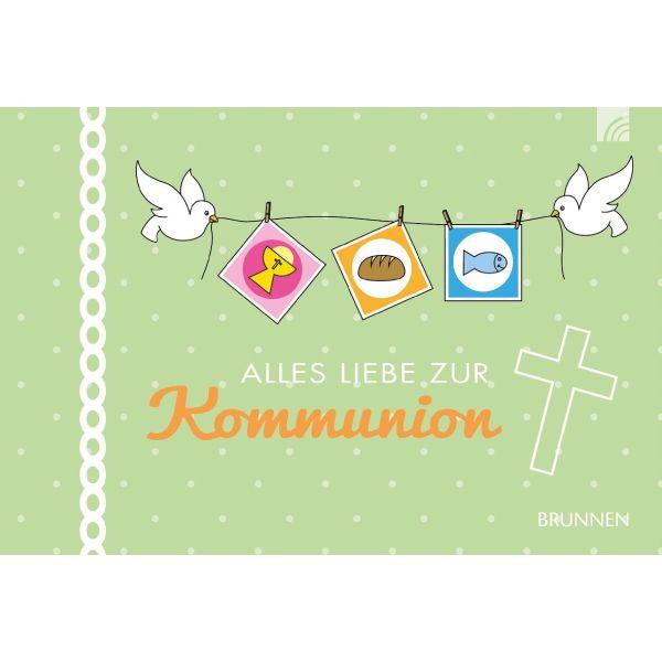 Alles Liebe zur Kommunion - Gutscheinbuch