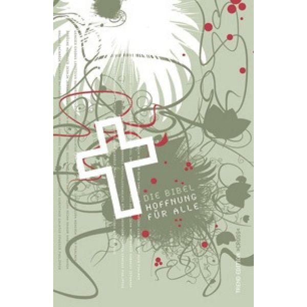 "Bibelhülle Hoffnung für alle  ""Trend Edition Cross"""