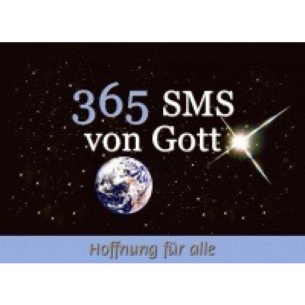365 SMS von Gott - Aufstellbuch