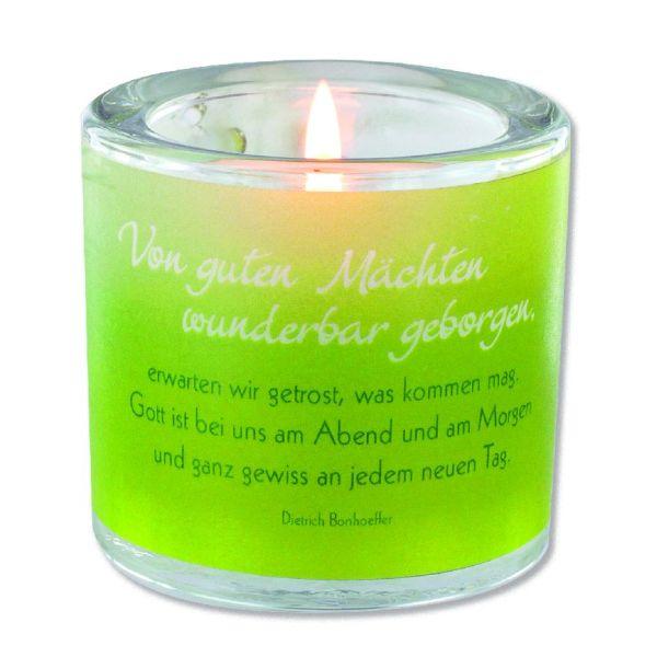"""Windlicht LichtMomente """"Von guten Mächten"""""""