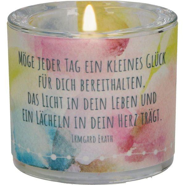 """Windlicht LichtMomente """"Wünsche für dich"""" - Geburtstag"""