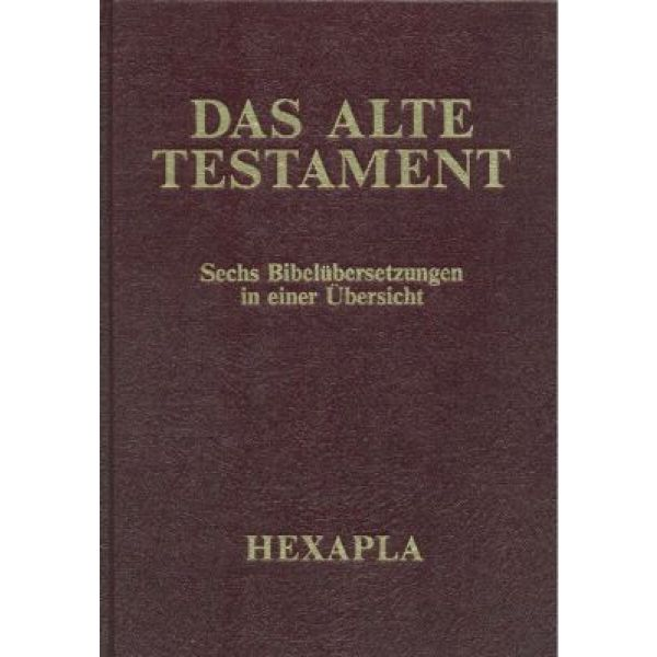 Hexapla Altes Testament, Band 1 - Goldschnitt