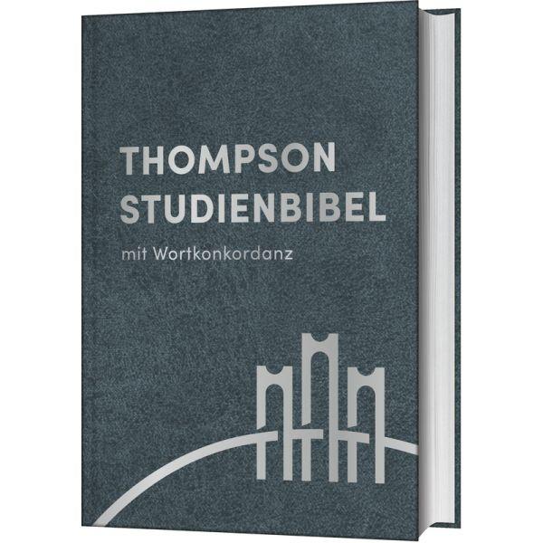 Thompson Studienbibel - Leder, Silberschnitt