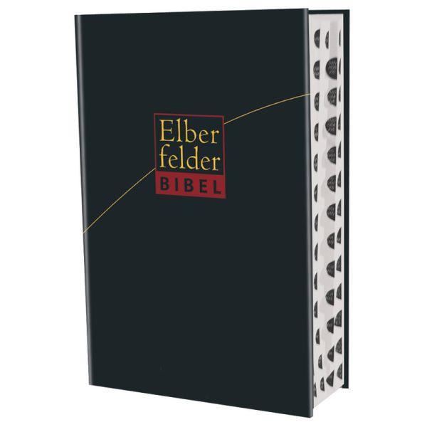 Elberfelder Bibel - Großausgabe, Kunstleder schwarz, mit Registerstanzung