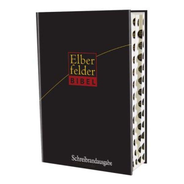 Elberfelder Bibel - Großausgabe mit Schreibrand und Griffregister