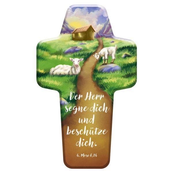 """Kinderkreuz """"Der Herr segne dich und beschütze dich"""""""