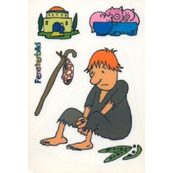 Folienpostkarte Der verlorene Sohn