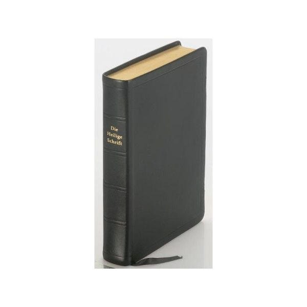 Elberfelder Bibel - Taschenausgabe Leder - Goldschnitt - Groß
