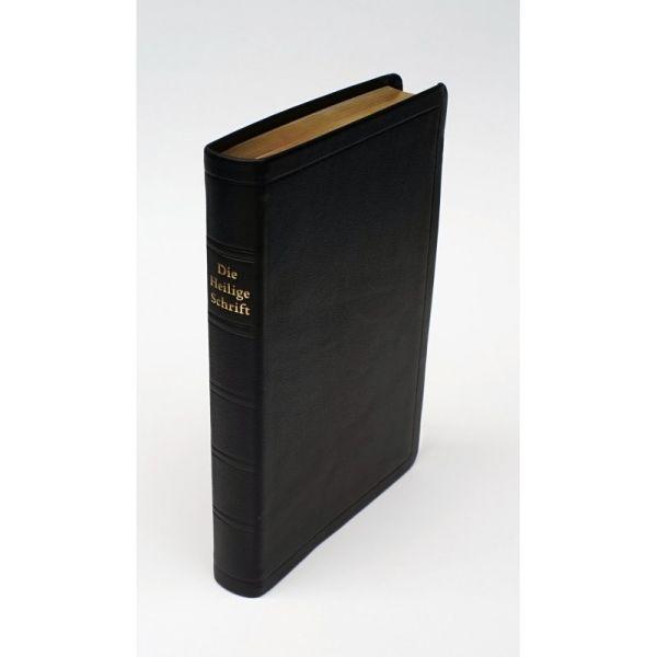 Die Heilige Schrift - Standardbibel, Leder, Goldschnitt, Griffregister