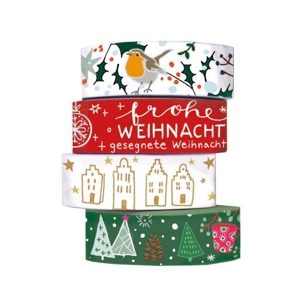 Washi Tapes - Weihnachtsgrüße
