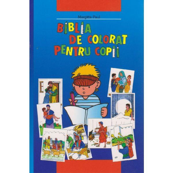 Kinder-Mal-Bibel - Rumänisch