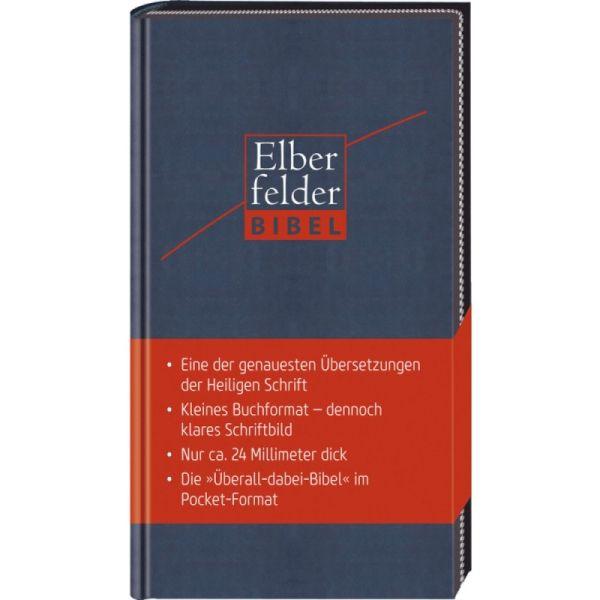 Elberfelder Bibel - Pocket Edition Kunstleder mit Reißverschluss