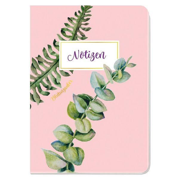 Notizheft A6 Blütenzauber Eukalyptus