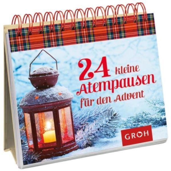 24 kleine Atempausen für den Advent - Aufstellbuch