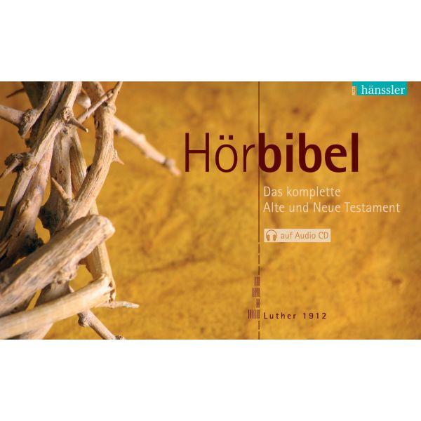 Hörbibel. Das komplette Alte und Neue Testament auf Audio-CD