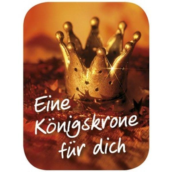 """Reinigungs-Pad mini """"Eine Königskrone für dich"""""""