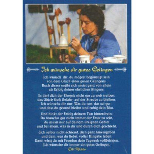 Postkarten: Ich wünsche dir gutes Gelingen, 12 Stück