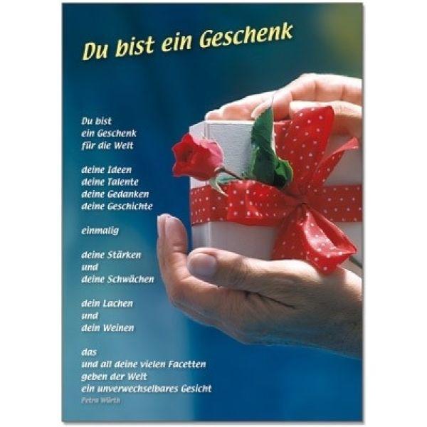Postkarten: Du bist ein Geschenk, 12 Stück