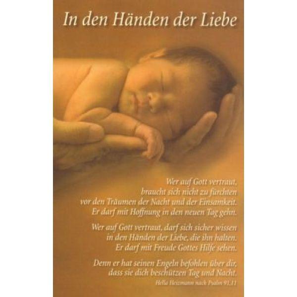 CD-Card: In den Händen der Liebe - neutral
