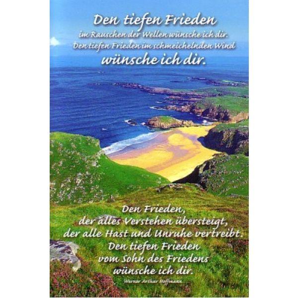 CD-Card: Tiefen Frieden - neutral