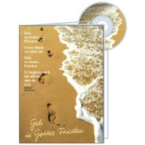 CD-Card: Geh in Gottes Frieden - Geburtstag