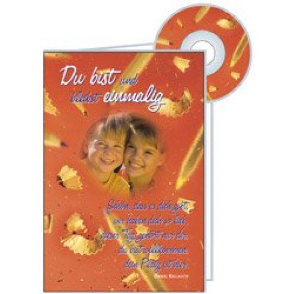 CD-Card: Du bist und bleibst einmalig - Geburtstag