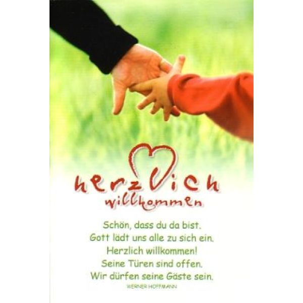 CD-Card: Herzlich willkommen - Geburtstag