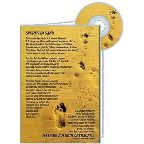 CD-Card: Spuren im Sand - Geburtstag