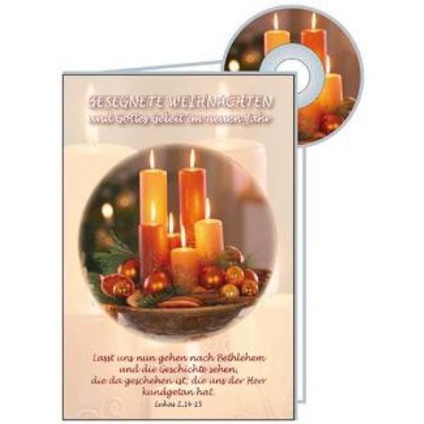 CD-Card: Lasst uns nun gehen nach Bethlehem - Weihnachten