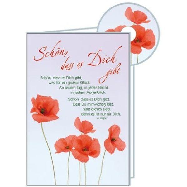CD-Card: Schön, dass es dich gibt - Geburtstag