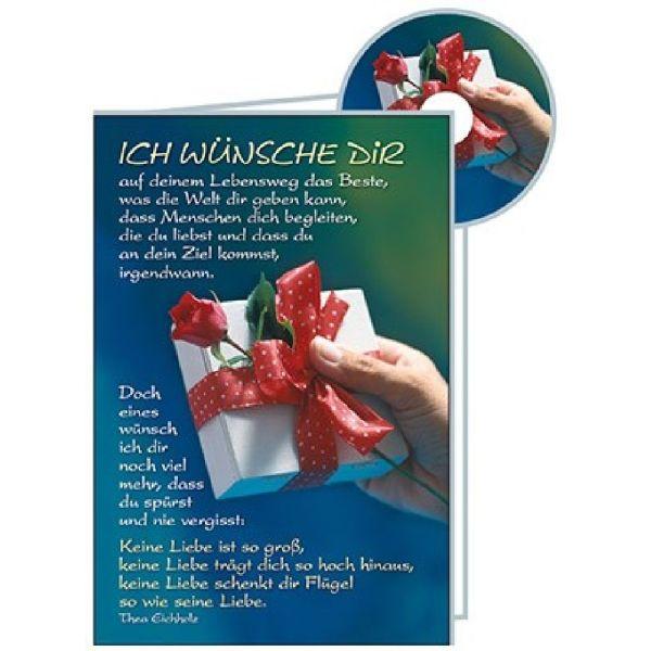CD-Card: Ich wünsche dir - Konfirmation