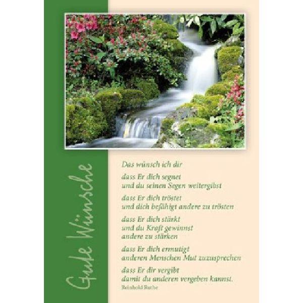 Postkarten: Das wünsch ich dir, 4 Stück