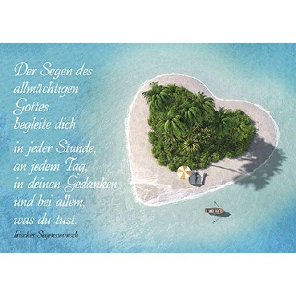 Postkarten: Der Segen des allmächtigen Gottes, 4 Stück