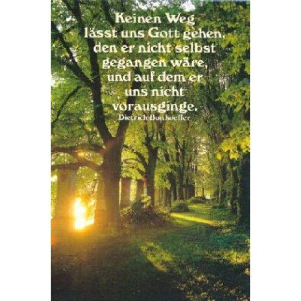 Postkarten: Keinen Weg lässt uns Gott gehen, 4 Stück
