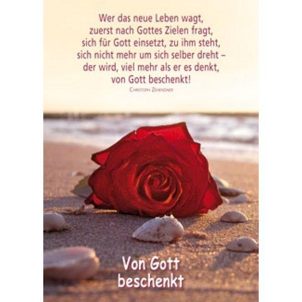 Postkarten: Von Gott beschenkt, 4 Stück