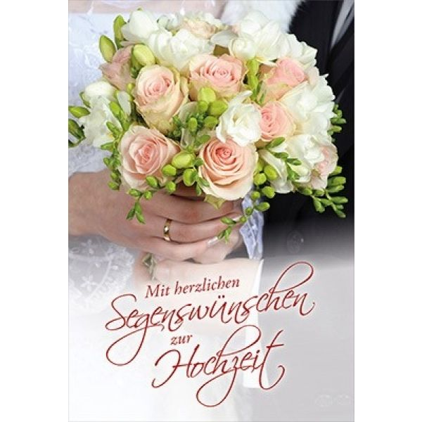 Faltkarte: 5.Mose 7,13 - Hochzeit
